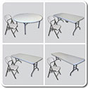 Wholesale Banquet Tables & Folding Chairs Combo